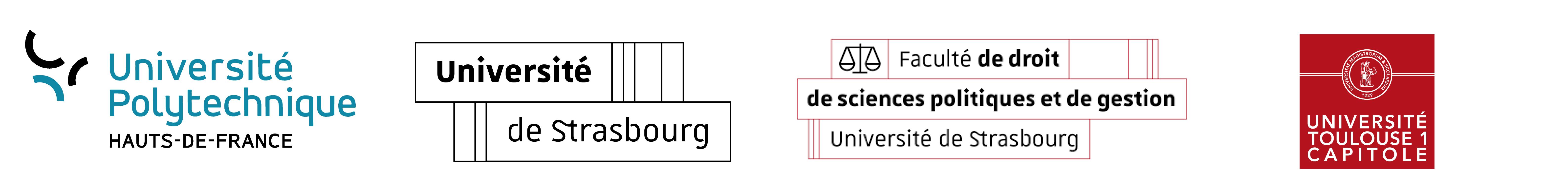 Logos partenaires internationaux universitaires